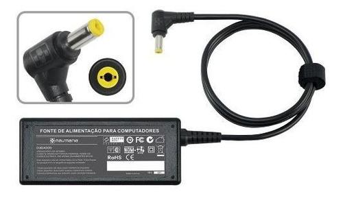 fonte carregador p/ hp compaq mini 1000 series 19v 1.58a 481