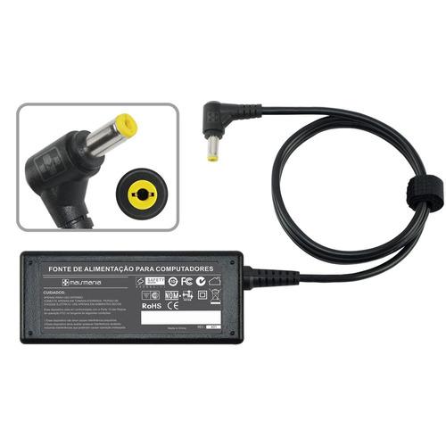 fonte carregador p/ hp compaq mini 700 series 19v 1.58a 481
