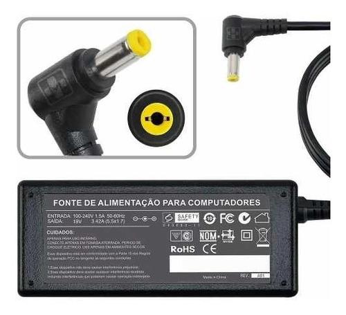 fonte carregador para hp compaq mini 700 19v 1.58a  481