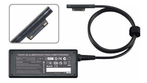 fonte carregador para microsoft surface pro3 pa1240 12v 2,58