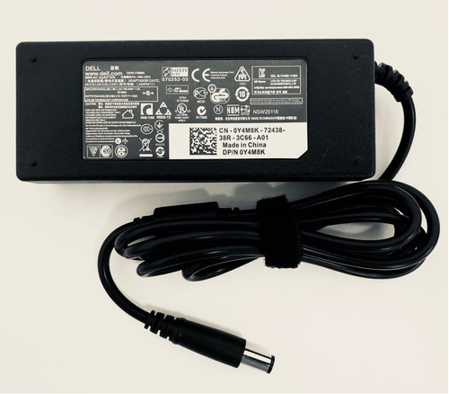 fonte carregador para notebook dell 19.5v 4.62 90w pa-10