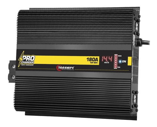 fonte carregador taramps procharger 180a automotivo bivolt