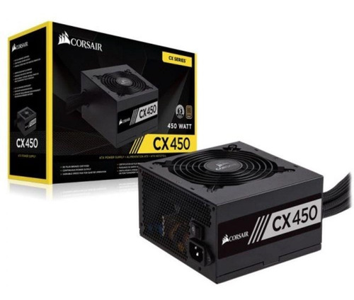 fonte corsair 450w cx450 80 plus bronze cp-9020120-ww