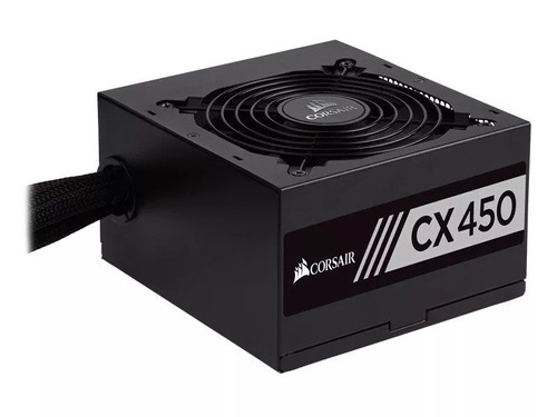 fonte corsair cx450 450w cx 80 plus bronze