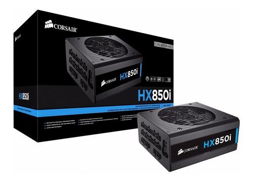 fonte corsair hx850i atx 80 plus platinum digital 850w