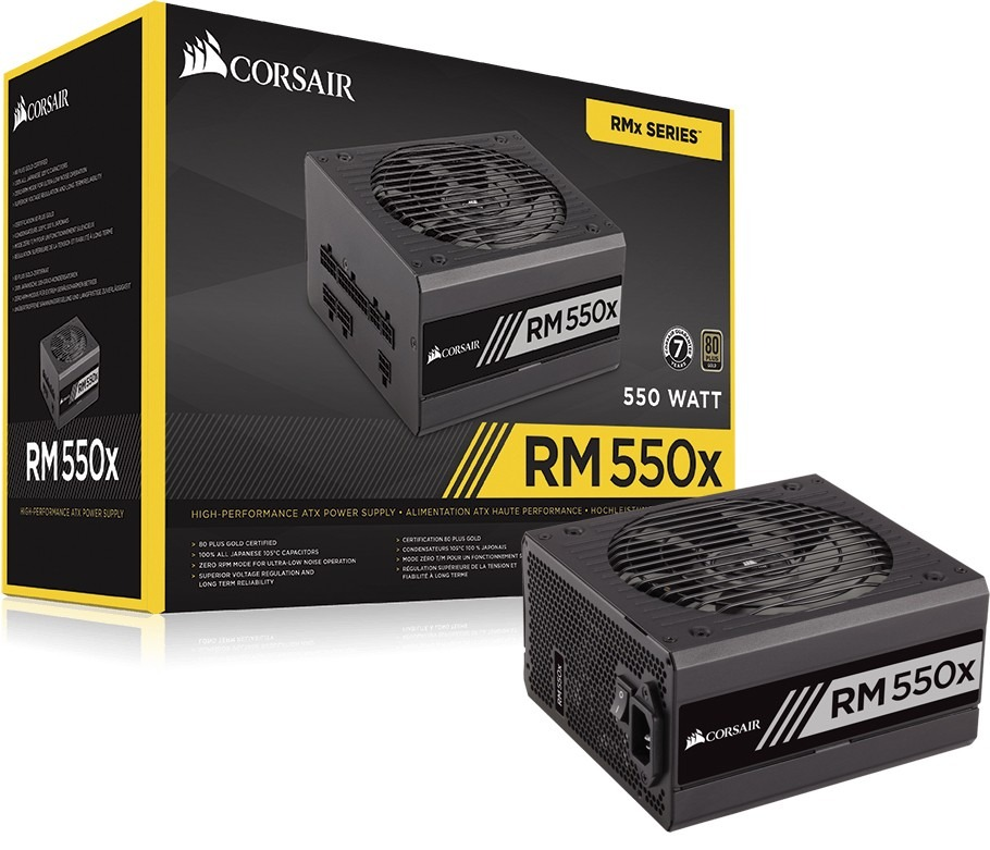 Fonte corsair rm550x modular 80 plus gold 550w rm series r 690 carregando zoom fandeluxe Gallery
