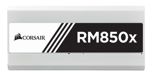 fonte corsair rm850x white modular 80 plus gold 850w