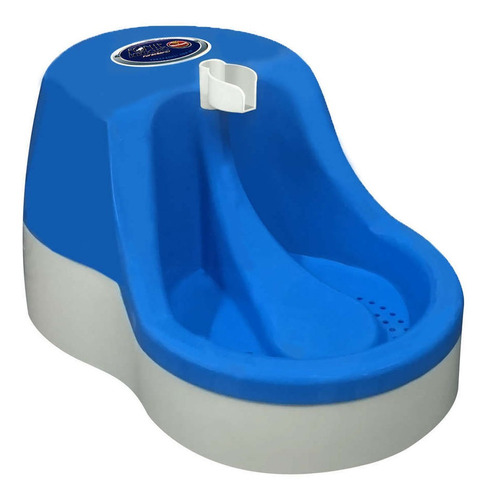 fonte de água bebedouro furacãopet cães e gato 110v cor azul