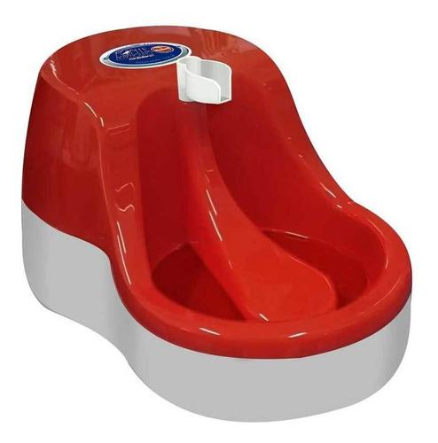 fonte de água bebedouro furacãopet cães e gato 110v vermelha