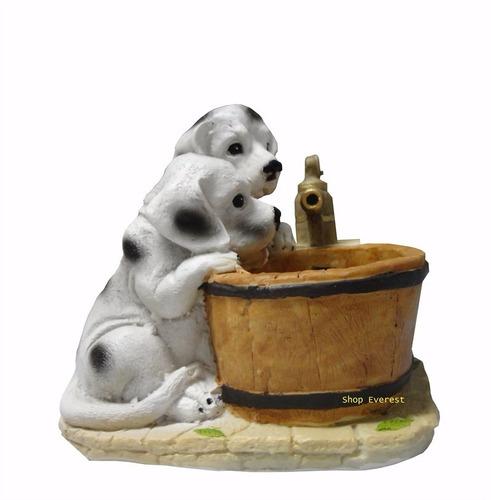 fonte de água cachorrinho.