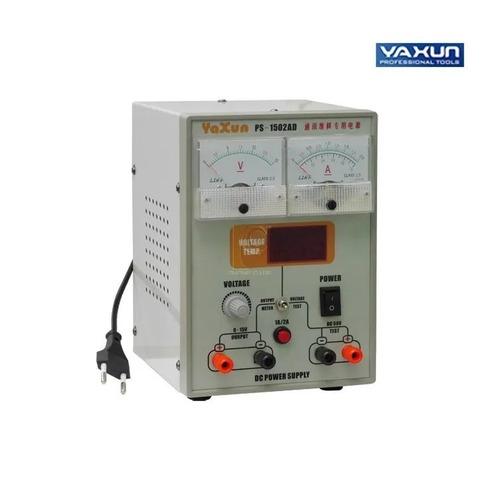 fonte de alimentação yaxun yx1502ad com voltímetro 110v