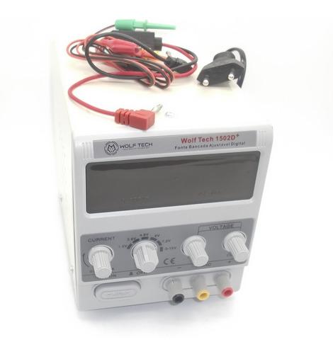 fonte de bancada celular digital proteção regulagem 2a 2 amp