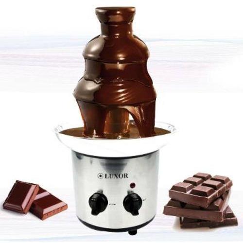 fonte de cascata de chocolate luxor 110v