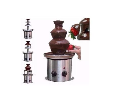 fonte de chocolate 3 andares luxor 110v frete grátis natal