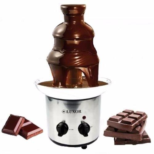 fonte de chocolate 3 andares  luxor + frete grátis promoção