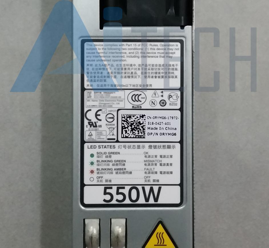 Fonte Dell R420 R320 550w Rymg6 D550e-s0 1j45g M95x4