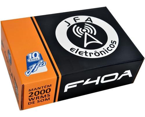 fonte digital jfa 40a c/ carregador bivolt voltímetro 2000w