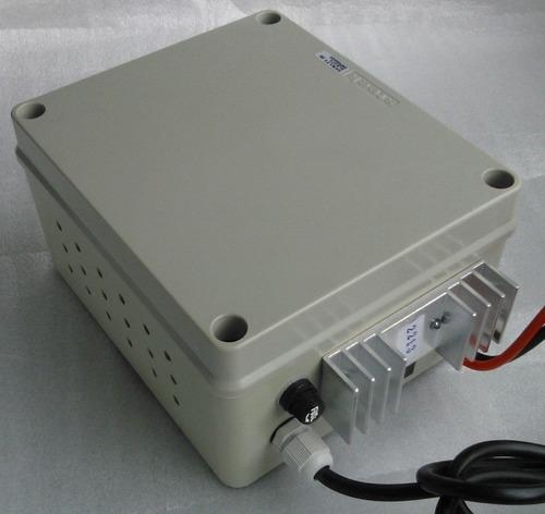 fonte e carregador de bateria 13,8 vcc  15a