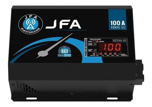 fonte e carregador jfa 100a automotiva pwm sci bivolt full