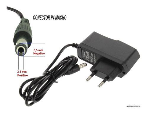 fonte estabilizada bivolt 110/220 12v 1a p/ cftv led cameras