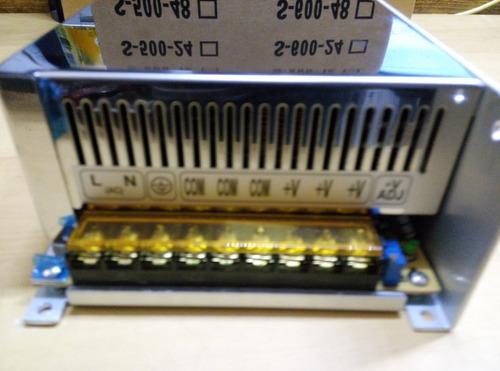 fonte estabilizada carregador de bateria 12 v 50amperes cftv