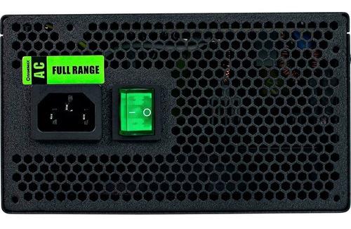 fonte gamemax gm500 500w 80 plus bronze - nova - sem caixa