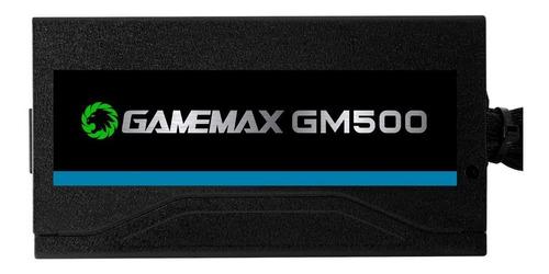 fonte gamemax gm500 80 plus bronze - sem caixa - original