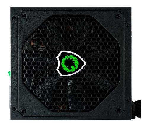 fonte gamemax gm600 preta 80 plus bronze 600w semi modular