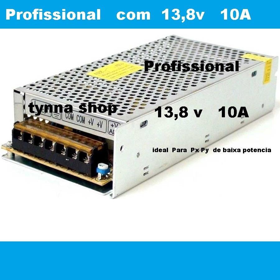 Fonte Inversor Conversor 110v 220v P 138v 10a Px Py Vhf R 9499 Power Supply Carregando Zoom