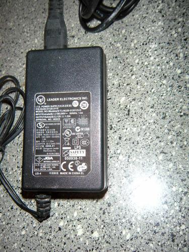 fonte leader eletronics nu20-5120125-13- 12v 1.25a original.