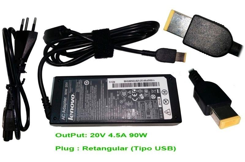 Fonte Lenovo T550 T450 T450s T540p Plug Usb Ib430