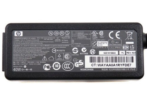 fonte netbook hp mini 110 210 700 1000 1100 2100 carregador