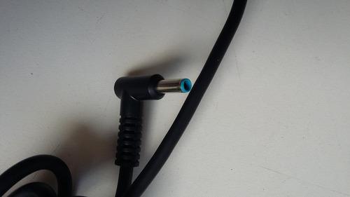 fonte notebook original hp 19.5v 2.31a 4.5mmx3.0mm plug azul