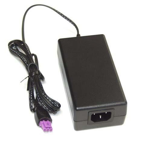 fonte p/ impressora hp f2480 plug roxo + cabo de energia