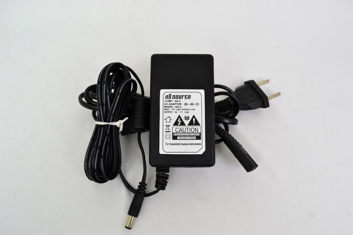 da126095845 Fonte P  Teclado Casio Ctk-230 9v 1.0a Ac Adaptor Ad-5 - R  39