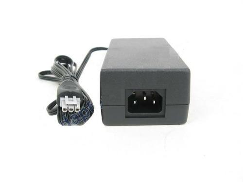 fonte para impressora hp psc 1410  plug cinza + cabo energia