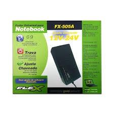 fonte para notebook universal flex fx-505a
