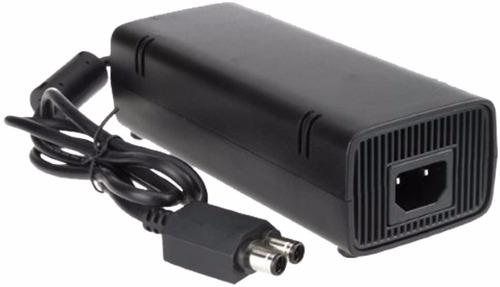 fonte para xbox 360 slim bivolt 110v/220v mais cabo de força