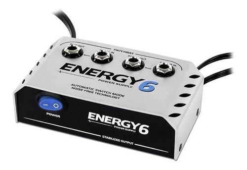 fonte pedal 6 pedais landscape energy e6 9v bivolt patchbay