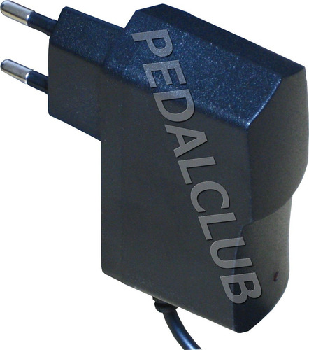 fonte pedal pedaleira 9v 1000ma bivolt + extensão p 5 pedais