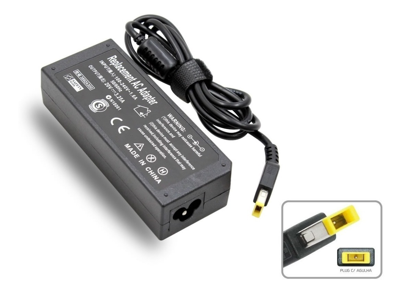 Fonte Pino Usb Lenovo T550 T450 T450s T540p Plug Usb 65w