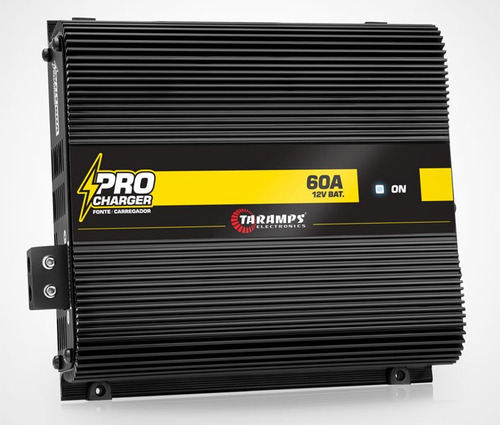 fonte pro charger 60a taramps - 60 amperes tef-60