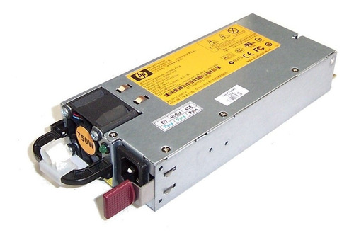 fonte servidor hp proliant dl380 g7 750w pn 506822-101