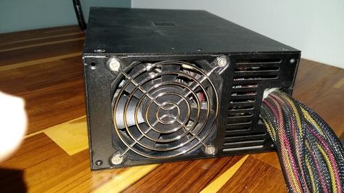 fonte seventeam st-750eaj-05g - 750 watts reais