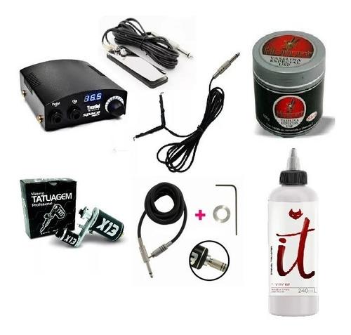 fonte space digital + x13 pedal clip rca vaselina transfer