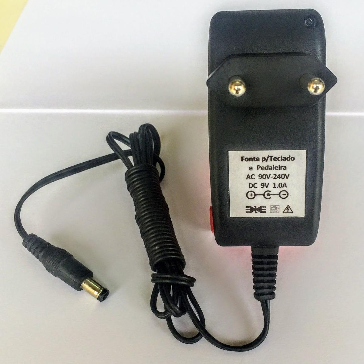 b4c73d76d31 Fonte Teclado Casio Pedal Pedaleira (9v - 1a) - R  27