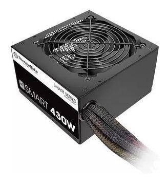 fonte thermaltake 430w 80 plus white pfc ativo gamer