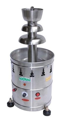 fonte torre cascata de chocolate 2 kg elétrica bivolt ademaq