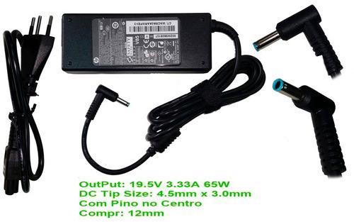 fonte ultrabook hp pavilion m4-1004tx plug azul m10761