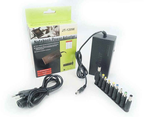 fonte universal carregador bateria notebook laptop bivolt